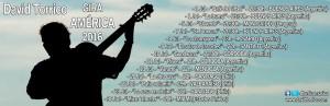 Calendario de la gira americana