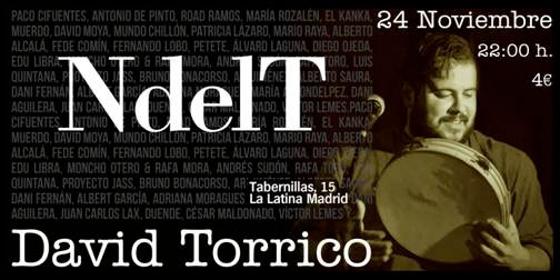 David Torrico en el NdelT