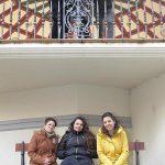 Foto de familia en el templete